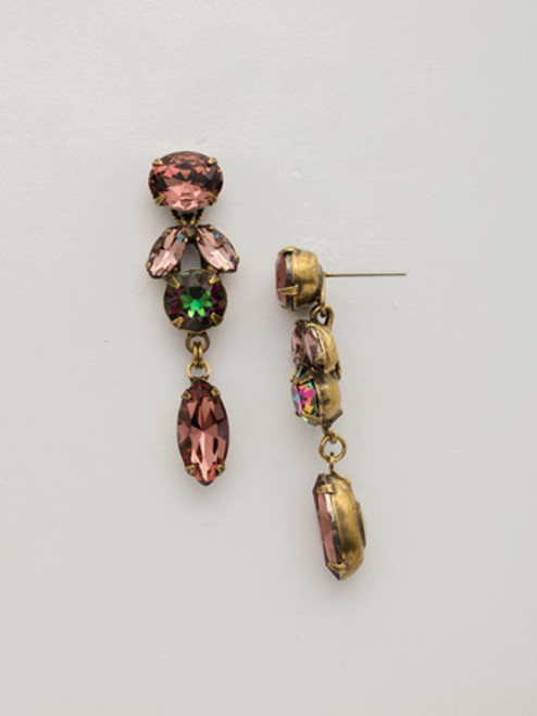 *SPECIAL ORDER*  Sorrelli Mahogany Crystal Earrings~EDT6AGM