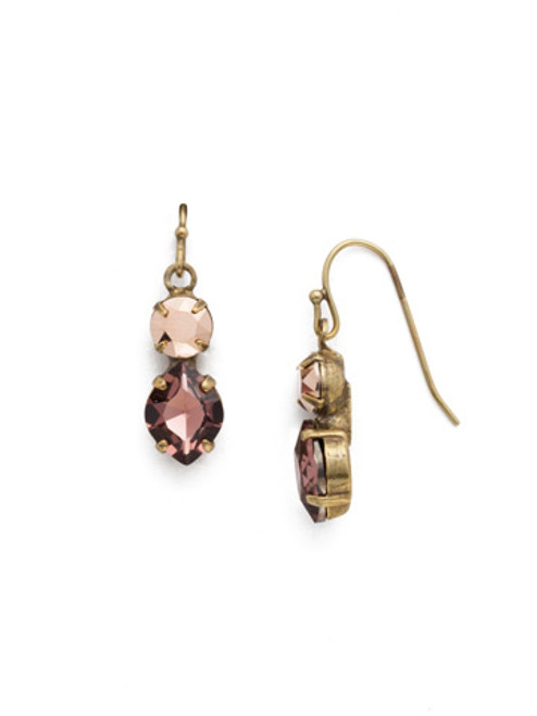 *SPECIAL ORDER* Sorrelli Mahogany Crystal Earrings~EDH74AGM