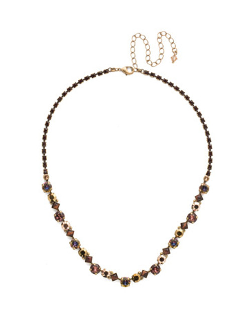 *Special Order* Sorrelli Mahogany Crystal  Necklace~NDN36AGM