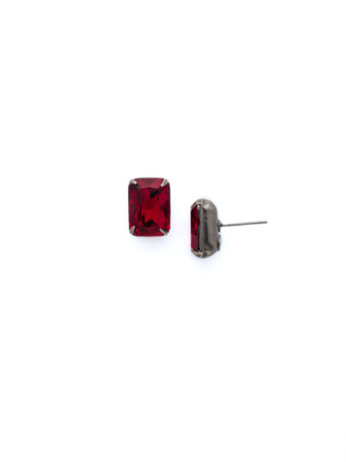 *Special Order*CRANBERRY Crystal Earrings by Sorrelli~ECT11ASCB