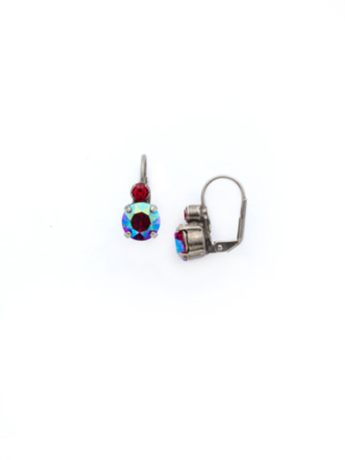 *Special Order*CRANBERRY Crystal Earrings by Sorrelli~ECW36ASCB