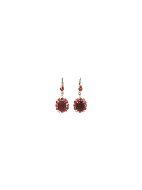 *Special Order*CRANBERRY Crystal Earrings by Sorrelli~EBU42ASCB