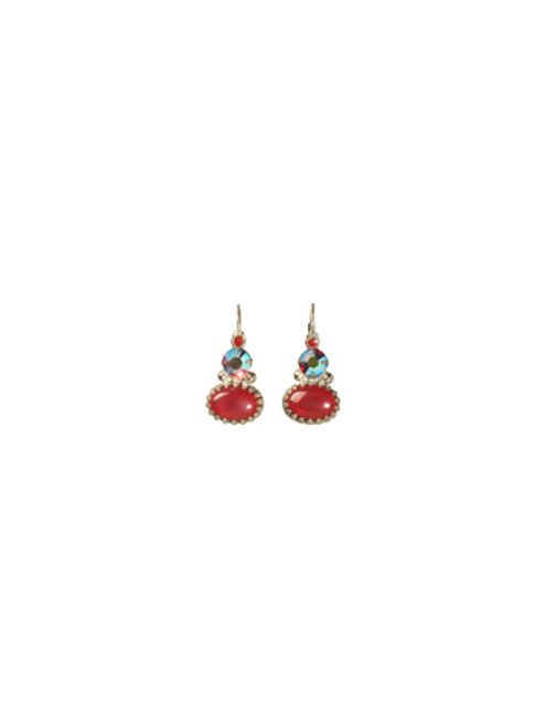 *Special Order* CRANBERRY Crystal Earrings by Sorrelli~ECC29ASCB