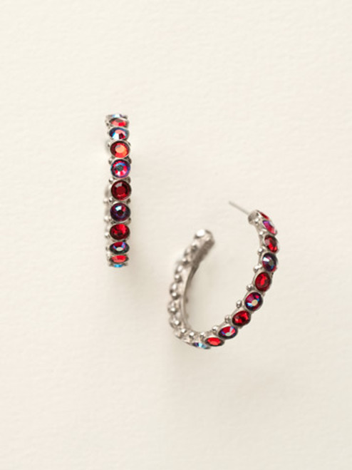 *Special Order* CRANBERRY Crystal Earrings by Sorrelli~ECQ24ASCB