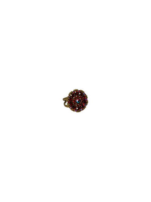 *Special Order* CRANBERRY Crystal Ring by Sorrelli~RBT78AGCB