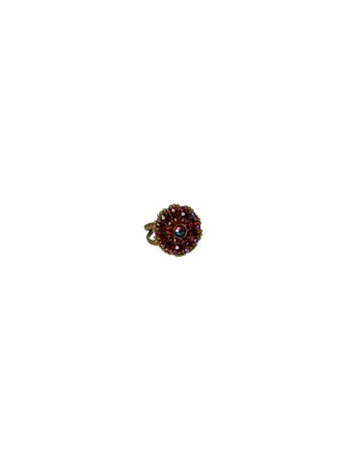 *Special Order* CRANBERRY Crystal Ring by Sorrelli~RBT78ASCB
