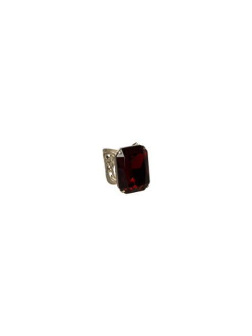 *Special Order* CRANBERRY Crystal Ring by Sorrelli~RBT67ASCB
