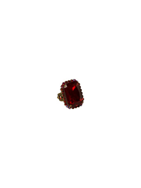 *Special Order* CRANBERRY Crystal Ring by Sorrelli~RBT69AGCB