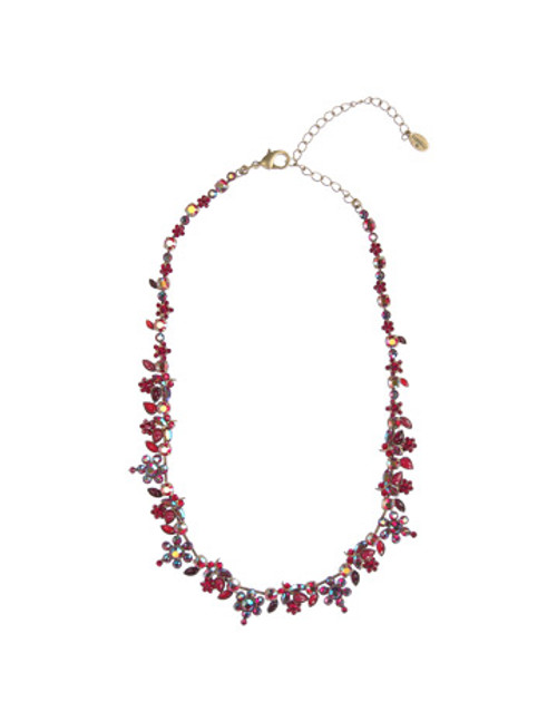**SPECIAL ORDER**Cranberry Classic Necklace by Sorrelli~NBJ31AGCB