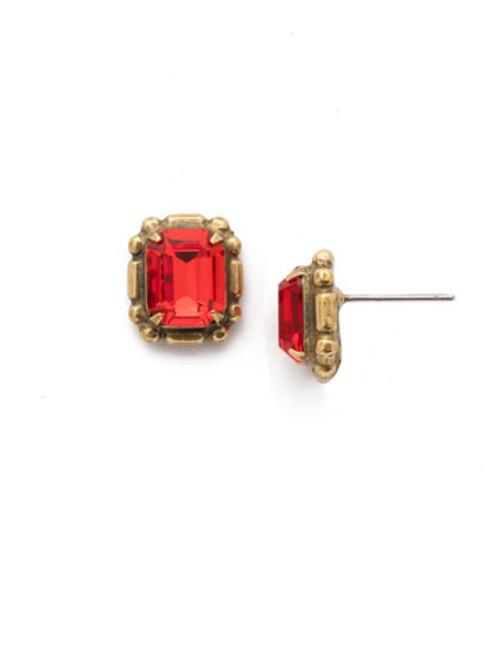 *SPECIAL ORDER* Sorrelli Sansa Red Stud Earrings~ EEF47AGSNR