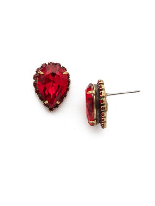 *SPECIAL ORDER* Sorrelli Sansa Red Stud Earrings~ EDY16AGSNR