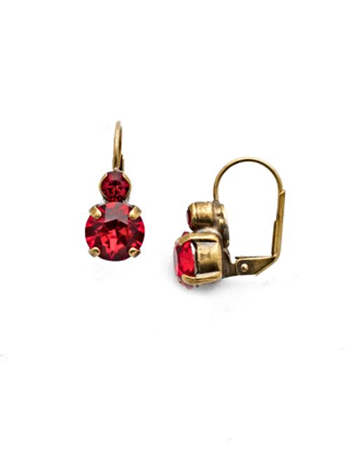 Sorrelli Sansa Red Earrings~ECW36AGSNR