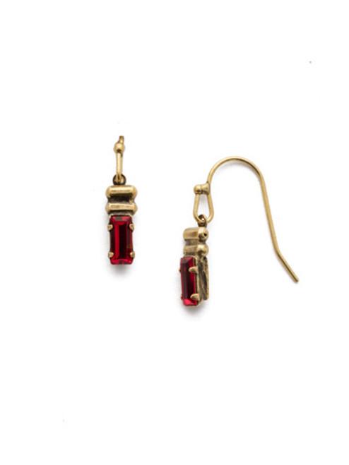 *SPECIAL ORDER*  Sorrelli Sansa Red Earrings~EEF82AGSNR