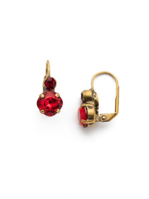 *SPECIAL ORDER*  Sorrelli Sansa Red Earrings~EEF93AGSNR