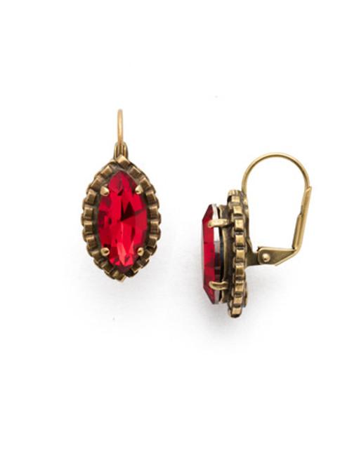*SPECIAL ORDER*  Sorrelli Sansa Red Earrings~EEF88AGSNR