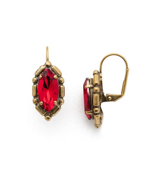 *SPECIAL ORDER*  Sorrelli Sansa Red Earrings~EEF90AGSNR