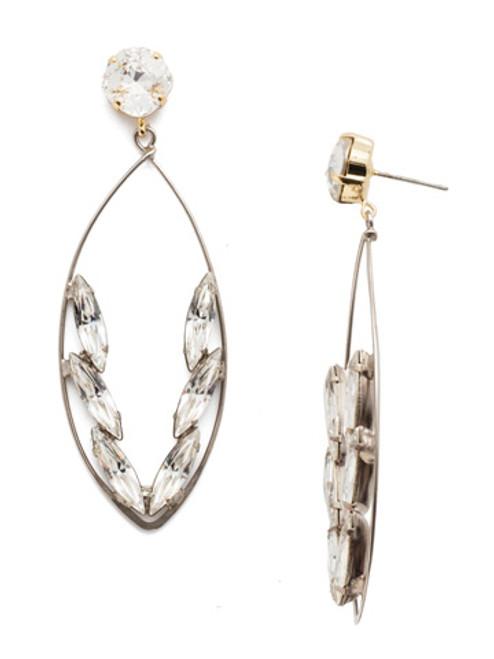 Sorrelli Crystal Collection - Estelle Statement Earrings~ 4EEN164MXCRY