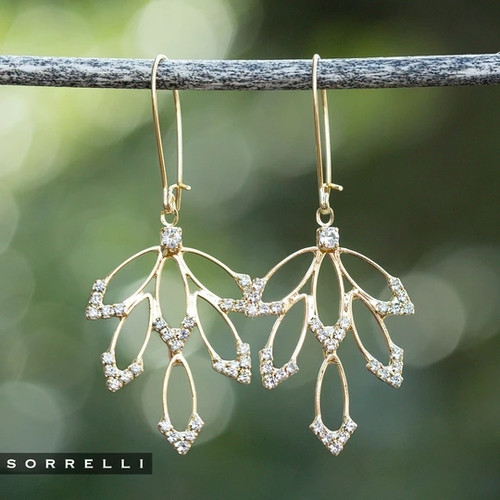 SORRELLI WHIMSY  WIT CRYSTAL STATEMENT EARRINGS~4EEK35BGCRY
