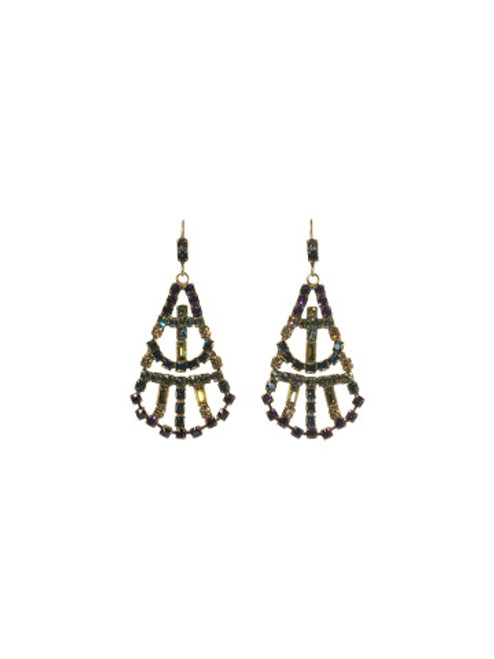 SORRELLI  ECF4AGAUS AURORA SKY CRYSTAL EARRINGS