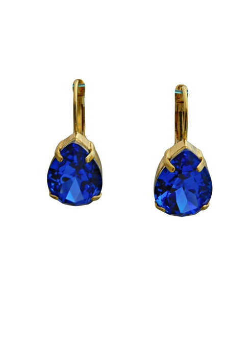 Sorrelli Sweet Sapphire Earrings~ECR104BGSS