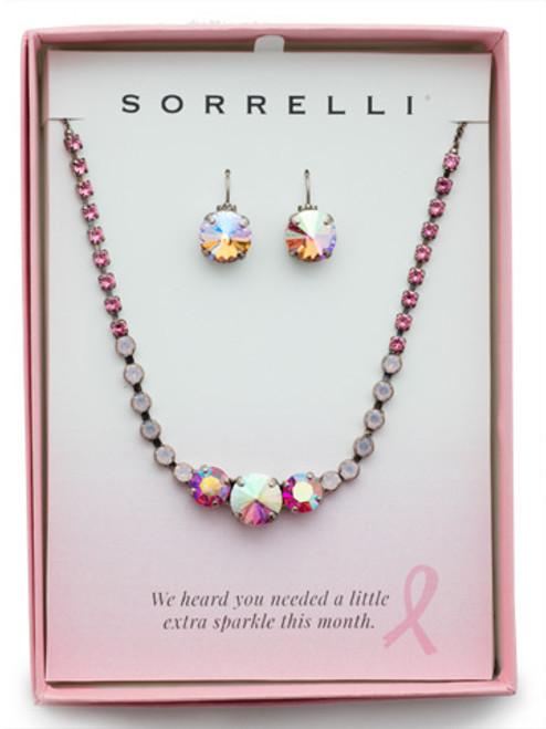 Sorrelli Pink Passion  Crystal Adorned Gift Set ~GEF11ASPIN