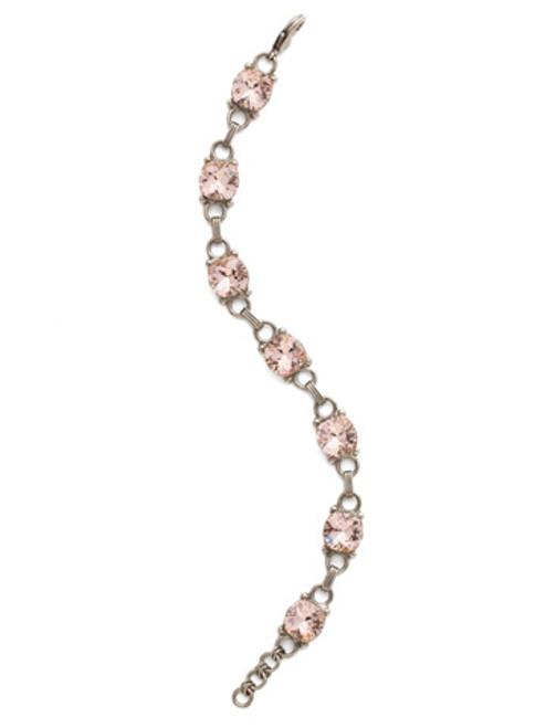 Sorrelli Vintage Rose Crystal Eyelet Line Bracelet ~BDN16ASVIN