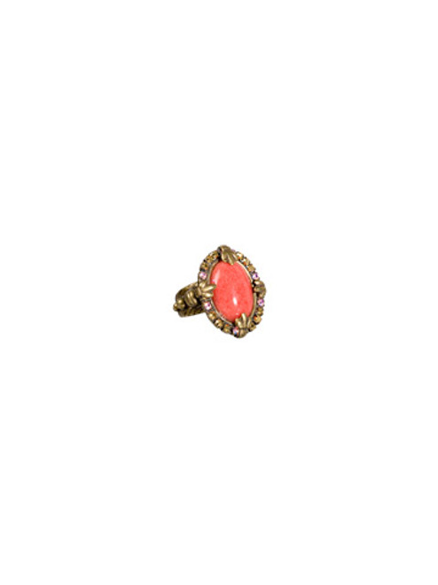 SORRELLI- KISSY FIT CRYSTAL RING-RBT76AGKSF