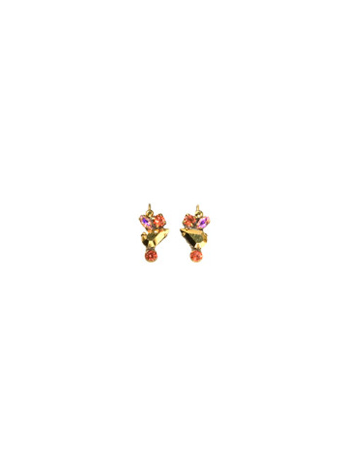 SORRELLI- KISSY FIT CRYSTAL EARRINGS-EBL10AGKSF