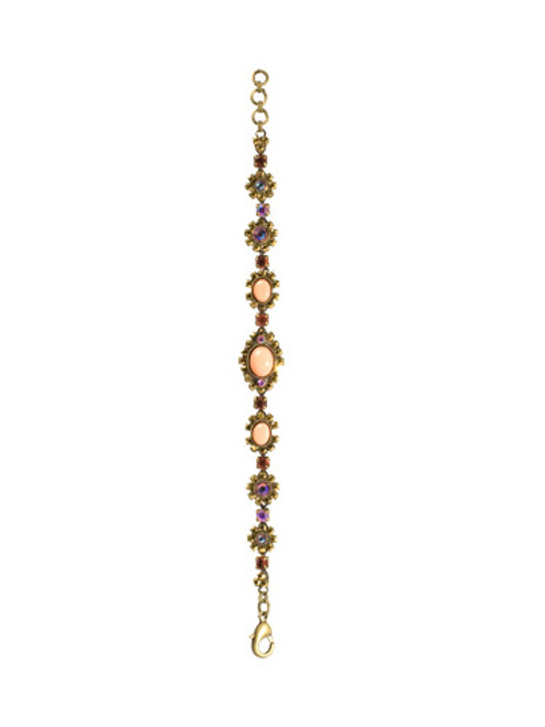 SORRELLI- KISSY FIT CRYSTAL AND STONE BRACELET-BBP24AGKSF