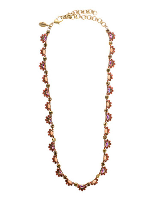 SORRELLI- KISSY FIT CRYSTAL NECKLACE- NBS78AGKSF