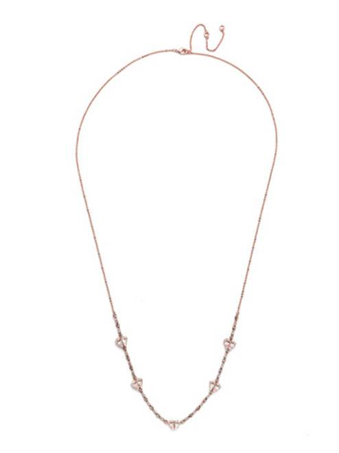 Sorrelli Petra Long Crystal Necklace ~ NER11RGCRY