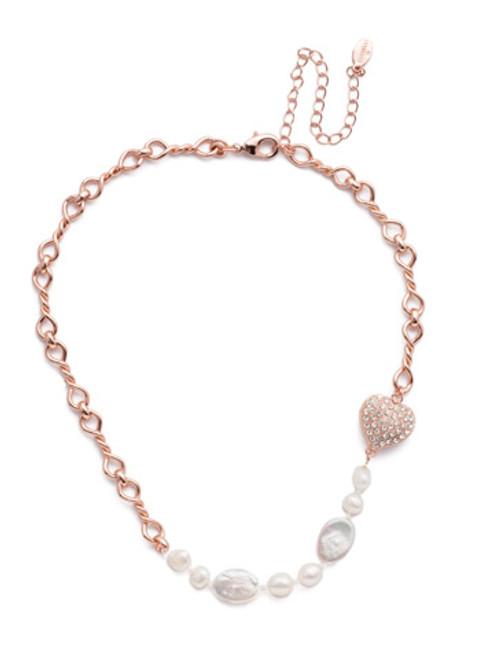 Sorrelli Venus Crystal Tennis Necklace ~ NER10RGCRY