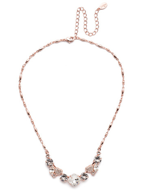 Sorrelli Lilo  Long Crystal  Necklace  ~ NER9RGCRY