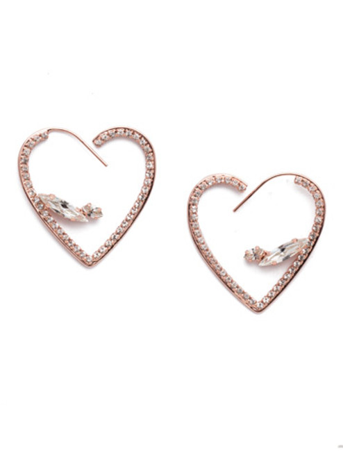 Sorrelli Sarafina Crystal Statement Earrings ~ EER2RGCRY