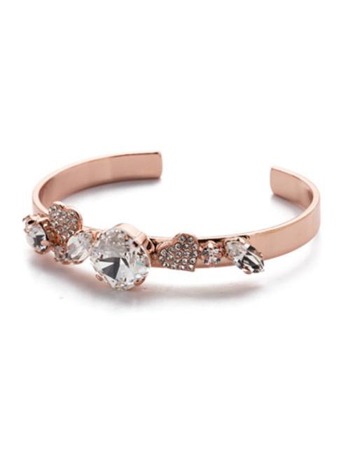 Sorrelli Lilo Crystal Cuff Bracelet ~ BER9RGCRY