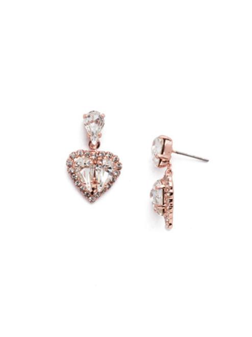 Sorrelli Nala Crystal Dangle Earrings ~ EER13RGCRY