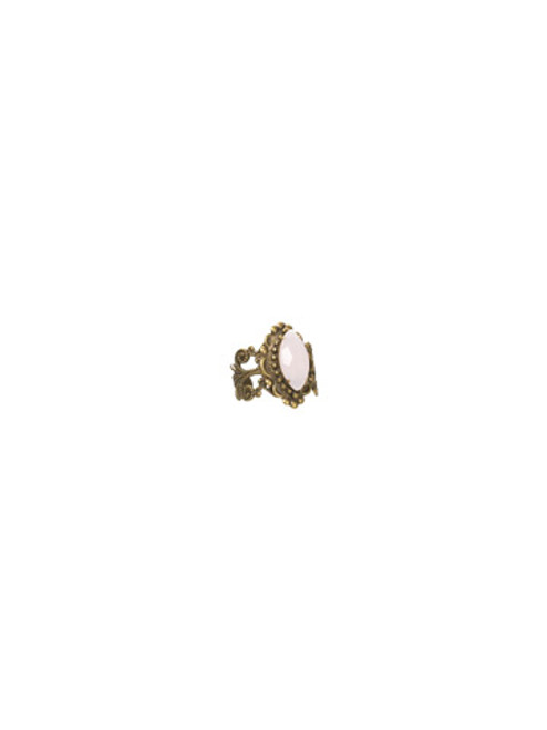 SORRELLI- PRETTY IN PINK MARQUIS COCKTAIL RING- RBW10AGPNP