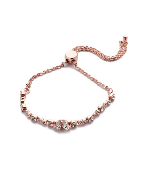 Sorrelli Waverly Crystal Slider Bracelet ~ BER7RGCRY