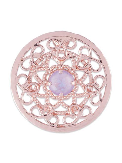 Sorrelli-Lavender Peach- Kimora Face Mask Charm~ CHM16RGLVP