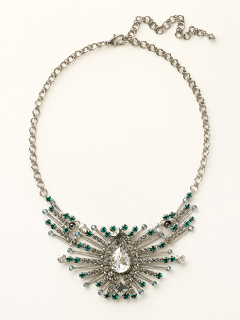 Sorrelli- Viridescence Sparkling Spectacle Necklace- NCQ15ASVR