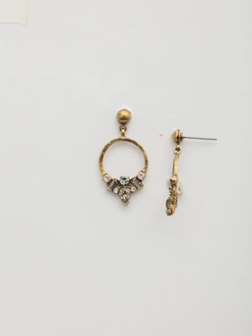 SORRELLI~WASHED PASTEL Crystal Earrings- EDW51AGWP