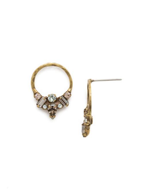 SORRELLI~WASHED PASTEL Crystal Earrings- EDR57AGWP