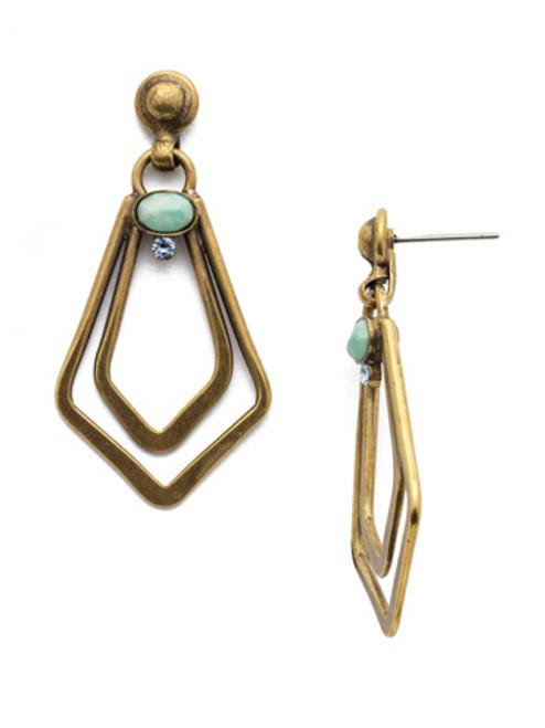 SORRELLI~WASHED PASTEL Crystal Earrings- EDY41AGWP