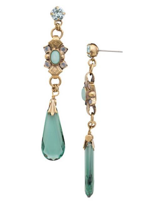 SORRELLI~WASHED PASTEL Empress Jewel Drop Earrings- EDH32AGWP