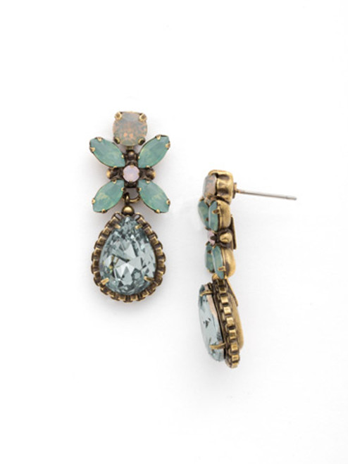 SORRELLI~WASHED PASTEL Crystal Drop Earring- EDG69AGWP
