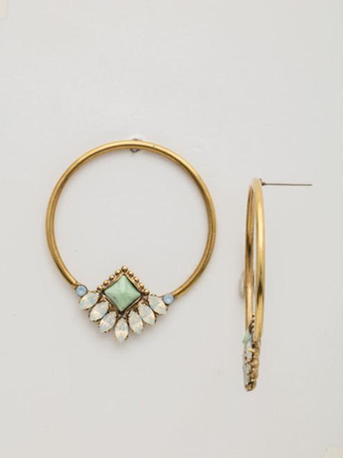 SORRELLI~WASHED PASTEL Crystal Earring- EDW52AGWP
