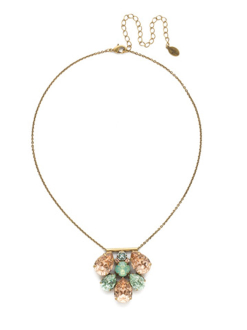 SORRELLI~WASHED PASTEL Crystal Pendant Necklace- NDR54AGWP