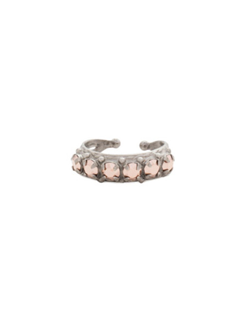 Sorrelli Gold Vermeil Slim Crystal Ring~ RCR111ASGV