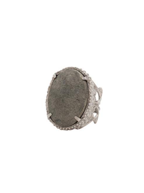 Sorrelli Gold Vermeil Semi Precious Solitaire Ring~ RCW50ASGV