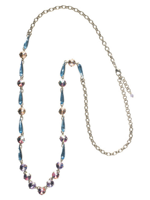 Sorrelli DIXIE- Delicately Draped Crystal Necklace~ NCQ20ASDX